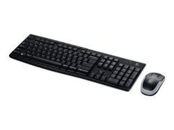 Logitech MK270 RF Wireless QWERTZ German Black ( 920-004511 )