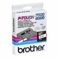 Brother Labelling Tape 9mm ( TX-221 )