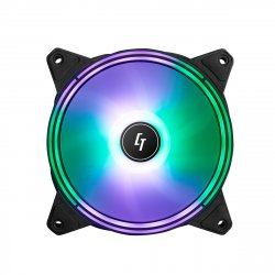 Chieftec NF-1225RGB computer cooling component Computer case Fan 12 cm Black 1 pc(s) ( NF-1225RGB )