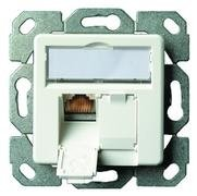 Telegärtner Cable duct mounting Cat.6 White ( J00020A0393 )