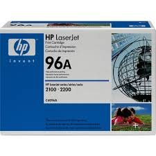 HP 96A Black Original LaserJet Toner Cartridge ( C4096A )