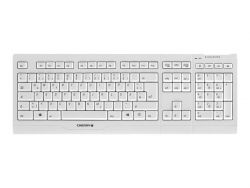 CHERRY B.UNLIMITED 3.0 - Tastatur-und-Maus-Set - drahtlos - 2.4 GHz - Deutsch - Pale Gray JD-0410DE-0