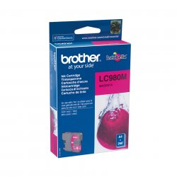 Brother LC-980M - Tinte magenta - für Brother DCP-145, 163, 167, 193, 195, 197, 365, 373, 375, 377, MFC-250, 255, 290, 295, 297