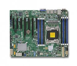 Supermicro X10SRL-F Intel C612 LGA 2011 (Socket R) ATX server/workstation motherboard ( MBD-X10SRL-F-O )