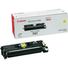 Canon 701 Laser cartridge 4000pages Yellow ( 9284A003 )