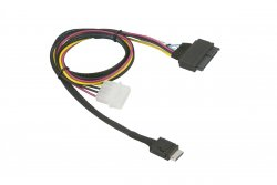 Supermicro CBL-SAST-1011 cable gender changer SFF-8611 SFF-8639 / 4-pin Black, Red, Yellow ( CBL-SAST-1011 )