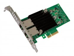 Intel Ethernet Converged Network Adapter X550-T2 - Netzwerkadapter - PCIe 3.0 x4 Low Profile - 10GBase-T x 2