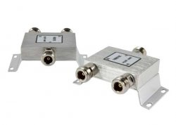 ALLNET 90012 Cable splitter Stainless steel ( ANT-SPLIT-24-2NF )