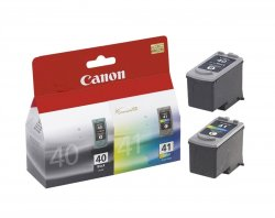Canon PG-40 / CL-41 ink cartridge 2 pc(s)  Photo cyan, Photo magenta, Black, Photo yellow ( 0615B051 )