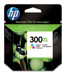 HP 300XL High Yield Tri-color Original Ink Cartridge ( CC644EE )