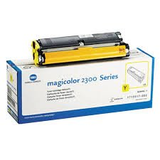 Konica Minolta 1710517-006 - 4576311 - Toner gelb - für magicolor 2300 DL, 2300W, 2350, 2350 EN; Magic