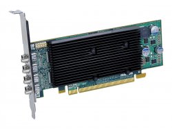 Matrox M9148 - Grafikkarten - M9148 - 1 GB - PCIe x16 Low Profile - 4 x Mini DisplayPort