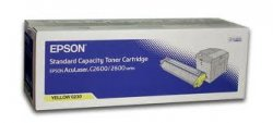 Epson AL-C2600 Toner Cartridge Yellow 2k ( C13S050230 )