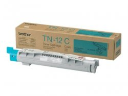 Brother TN-12C Laser toner 6000pages Cyan laser toner & cartridge ( TN-12C )