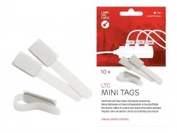 Label-the-cable LTC MINI TAGS - Draht-/Kabel-Marker - 9 cm - weiß (Packung mit 10) ( LTC 2520 )