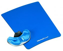 Fellowes Health-V Crystal Gliding Palm Support Blue ( 9180601 )