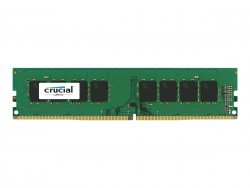 Crucial - DDR4 - 4 GB - DIMM 288-PIN - 2400 MHz / PC4-19200 - CL17