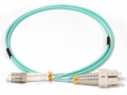 Lenovo 00MN502 fibre optic cable 1 m LC OM3 Turquoise ( 00MN502 )