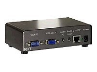 LevelOne 1-Port Cat.5 Audio/Video Transmitter ( 579201 )