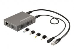 LevelOne 5-12V DC Gigabit PoE-Plus Splitter ( 552034 )
