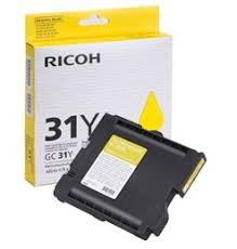 Ricoh 405691 Yellow ink cartridge ( 405691 )