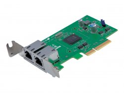 Supermicro Add-on Card AOC-SGP-i2 - Netzwerkadapter - PCIe 2.1 x4 Low Profile - Gigabit Ethernet x 2 ( AOC-SGP-I2 )