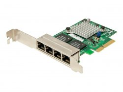 Supermicro Add-on Card AOC-SGP-i4 - Netzwerkadapter - PCIe 2.1 x4 Low Profile - Gigabit Ethernet x 4 - für SuperServer 6016T-NTRF4+, 6017R-WRF ( AOC-SGP-I4 )