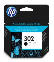 HP 302 Black Original Ink Cartridge ( F6U66AE )