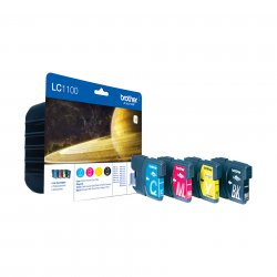 Brother LC-1100VALBPDR ink cartridge  Black, cyan, magenta, yellow Multipack 4 pc(s) ( LC-1100VALBPDR )