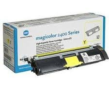 Konica Minolta 1710589-001 1500pages Yellow laser toner & cartridge ( 1710589-001 )