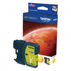 Brother LC-1100HYY Ink Cartridge  Gelb 1 Stück(e) ( LC-1100HYY )
