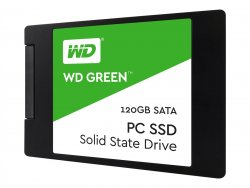 WD Green SSD WDS120G2G0A - Solid-State-Disk - 120 GB - intern - 2.5
