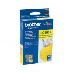 Brother LC-980Y - Tinte gelb - für Brother DCP-145, 163, 167, 193, 195, 197, 365, 373, 375, 377, MFC-250, 255, 290, 295, 297