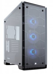 Corsair Crystal 570X Midi-Tower Schwarz Computer-Gehause ( CC-9011098-WW )