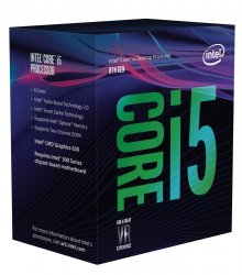 Intel Core i5-8600 3.1GHz 9MB Smart Cache Box Prozessor ( BX80684I58600 )