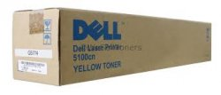 Dell 593-10053 - HG308 - CT200546 - Toner gelb - für Color Laser Printer 5100cn