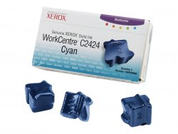 Xerox Genuine WorkCentre C2424 Solid Ink Cyan (3 sticks) ( 108R00660 )