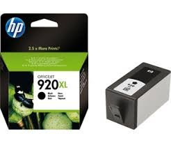 HP 920XL High Yield Black Original Ink Cartridge ( CD975AE )