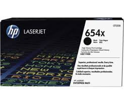 HP 654X - CF330X - Toner schwarz - für Color LaserJet Enterprise M651dn M651n M651xh; Color LaserJet Managed M651dnm M651xhm