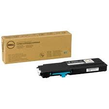 Dell 593-11114 - 2PRFP - CT201872 - Toner cyan - für Color Laser Printer C3760dn, C3760n, C3765dnf; Multifunction Color Laser Printer C3765dnf