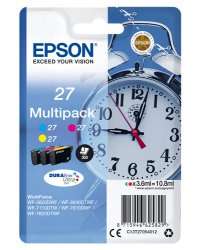 Epson C13T27054012 3.6ml 300pages Cyan, Magenta, Yellow ink cartridge ( C13T27054012 )