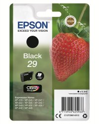 Epson C13T29814012 5.3ml 175pages Black ink cartridge ( C13T29814012 )