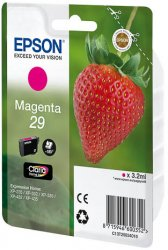Epson 29 M 3.2ml Magenta 180pages ink cartridge ( C13T29834010 )
