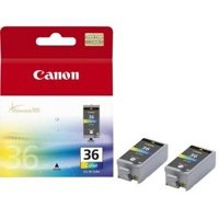 Canon CLI-36 Black, Cyan, Magenta, Yellow ink cartridge ( 1511B018 )