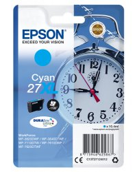 Epson C13T27124012 10.4ml 1100pages Cyan ink cartridge ( C13T27124012 )