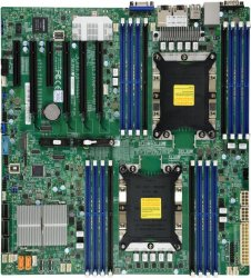 Supermicro X11DPi-NT Server-/Workstation-Motherboard LGA 3647 (Socket P) Intel C622 Erweitertes ATX ( MBD-X11DPI-NT-O )