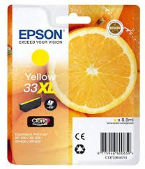 Epson Singlepack Yellow 33XL Claria Premium Ink ink cartridge ( C13T33644012 )