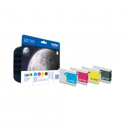 Brother LC-1000VALBPDR ink cartridge  Black, Cyan, magenta, yellow Multipack ( LC-1000VALBPDR )