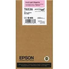 Epson T6536 Vivid Light Magenta (200ml) ink cartridge ( C13T653600 )
