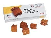 Xerox GENUINE 5 YELLOW COLORSTIX 8200 IN ink stick ( 016204700 )